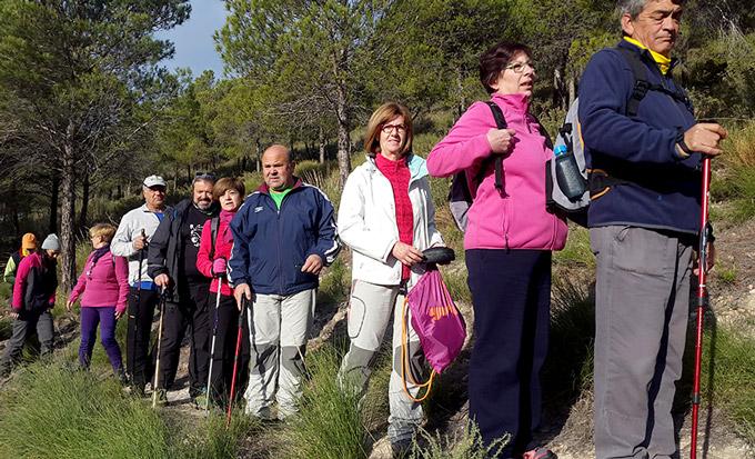 Comienza la campaña de senderismo en Órgiva